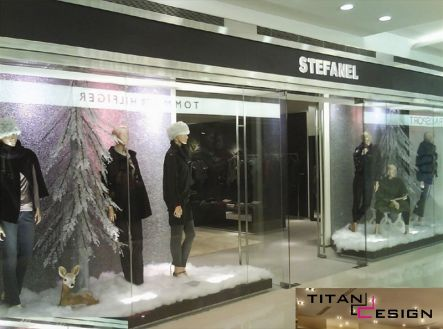 Interior Design : Stefanel